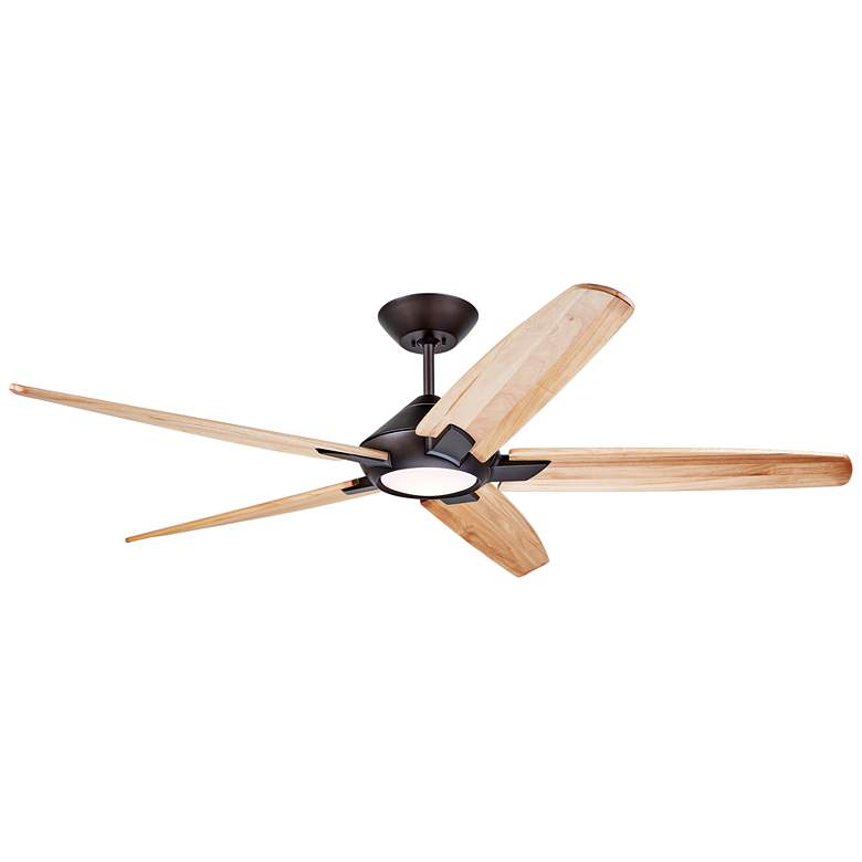 """60"""" Dorian Eco Oil-Rubbed Bronze - Natural LED Ceiling Fan"""