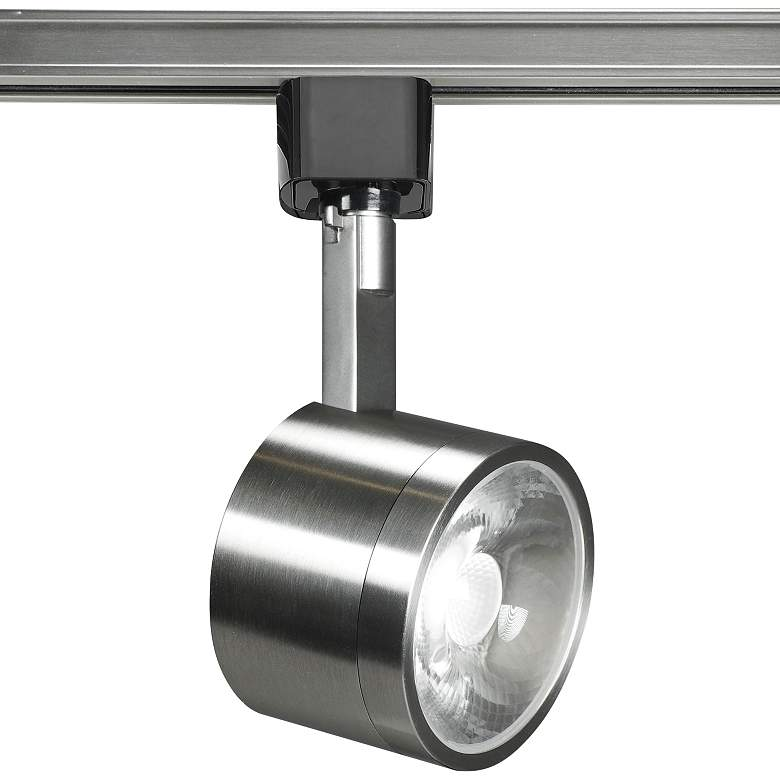 Nuvo Brushed Nickel Round 36-Degree LED Track Head
