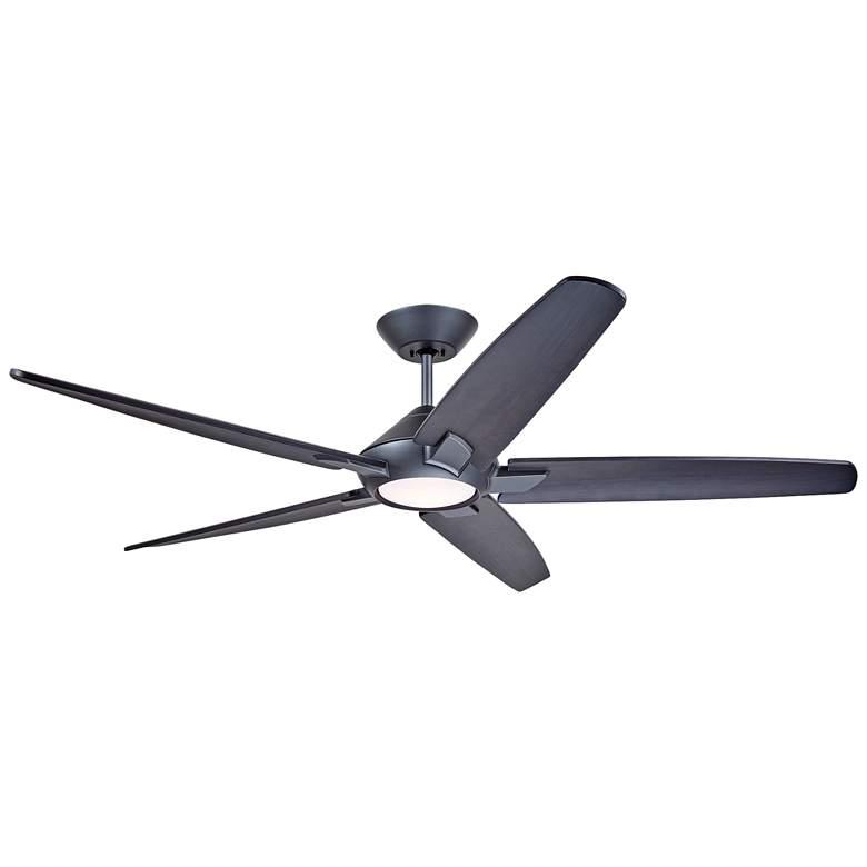 "60"" Emerson Dorian Eco Graphite - Charcoal LED Ceiling Fan"