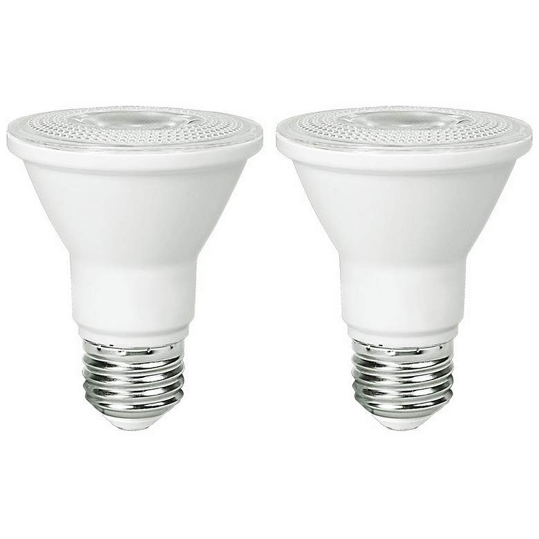 50W Equivalent Frosted 5.5W PAR20 JA-8 LED Dimmable 2-Pack