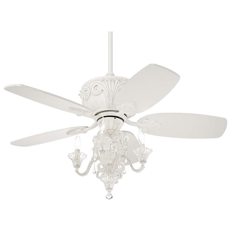 """44"""" Casa Deville™ Antique White LED Ceiling Fan"""