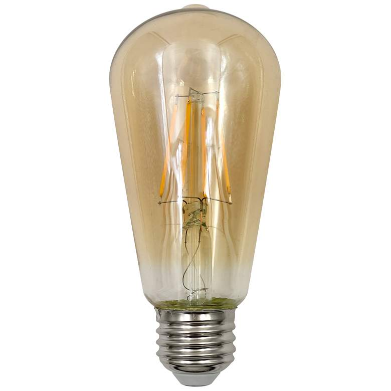 40W Equivalent Tesler Amber 4W LED Dimmable Standard