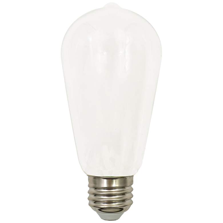 60W Equivalent Tesler Milky 7W LED Dimmable Standard ST19
