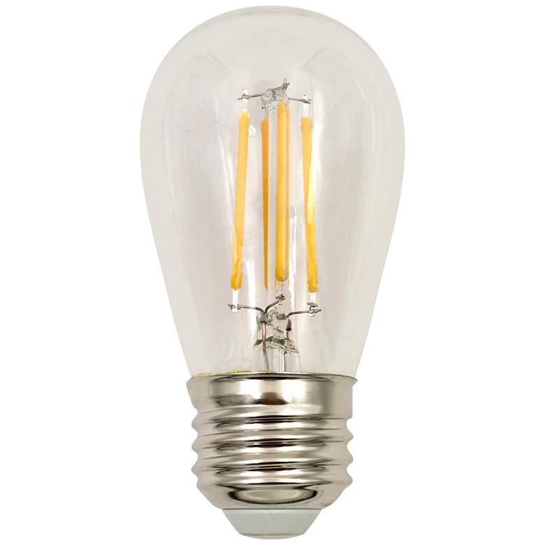 60W Equivalent Clear 5.5W LED Dimmable ST14 Standard Bulb