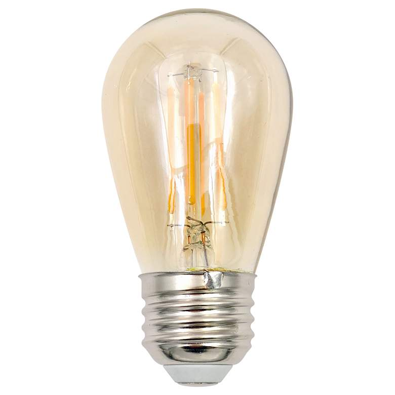 60W Equivalent Amber 5.5W LED Dimmable ST14 Standard