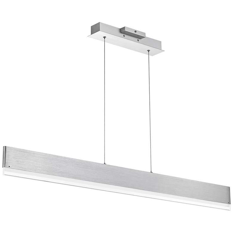 "Cutlas 47 3/4""W Aluminum LED Kitchen Island Light Pendant"