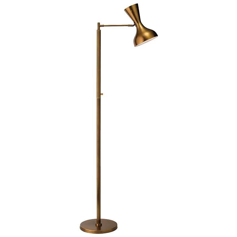 Jamie Young Pisa Antique Brass 2-Directional Floor Lamp