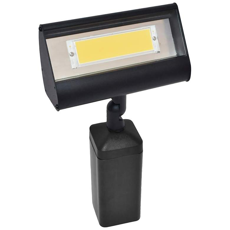 "Cooper 8"" High Black Texture LED Landscape Flood Light"