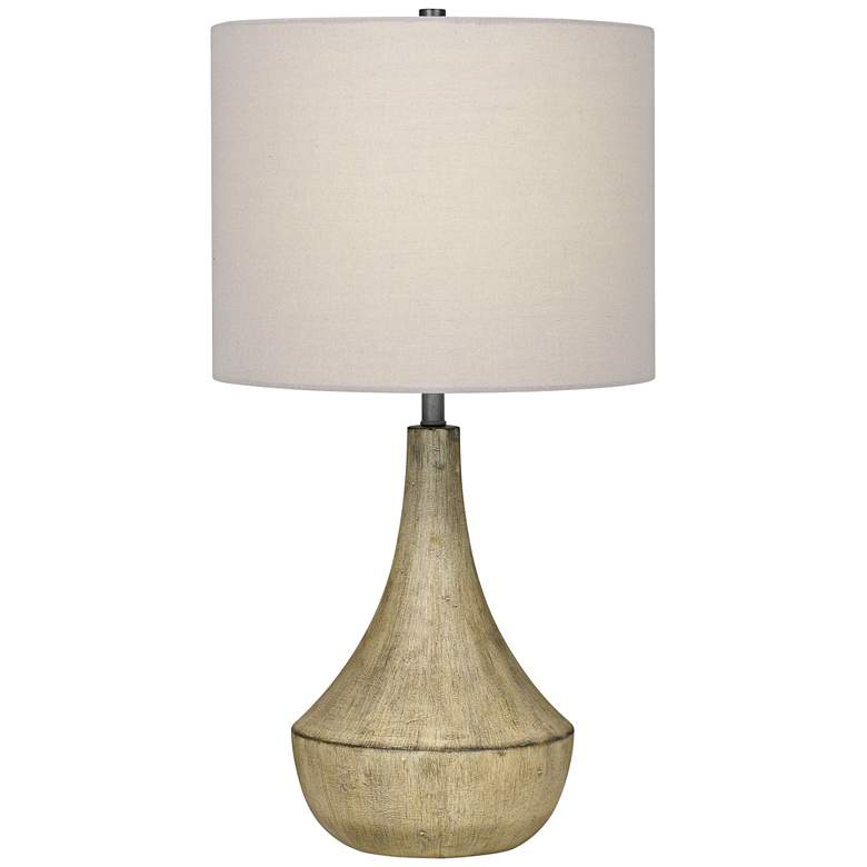 Quoizel Rockville White Wash Table Lamp