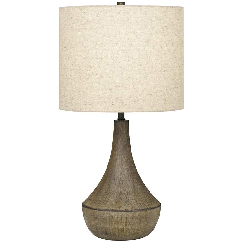 Quoizel Rockville Weathered Elm Table Lamp
