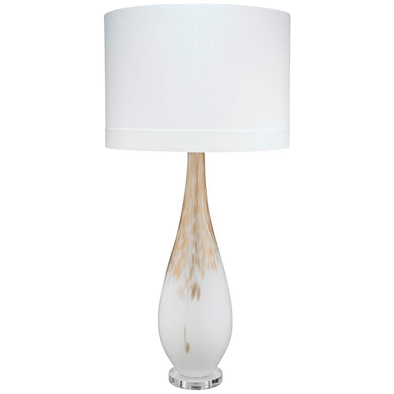 Jamie Young Dewdrop Gold Ombre Hand-Blown Glass Table Lamp