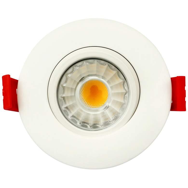 """Canless 3"""" Round Gimbal White 8 Watt LED"""