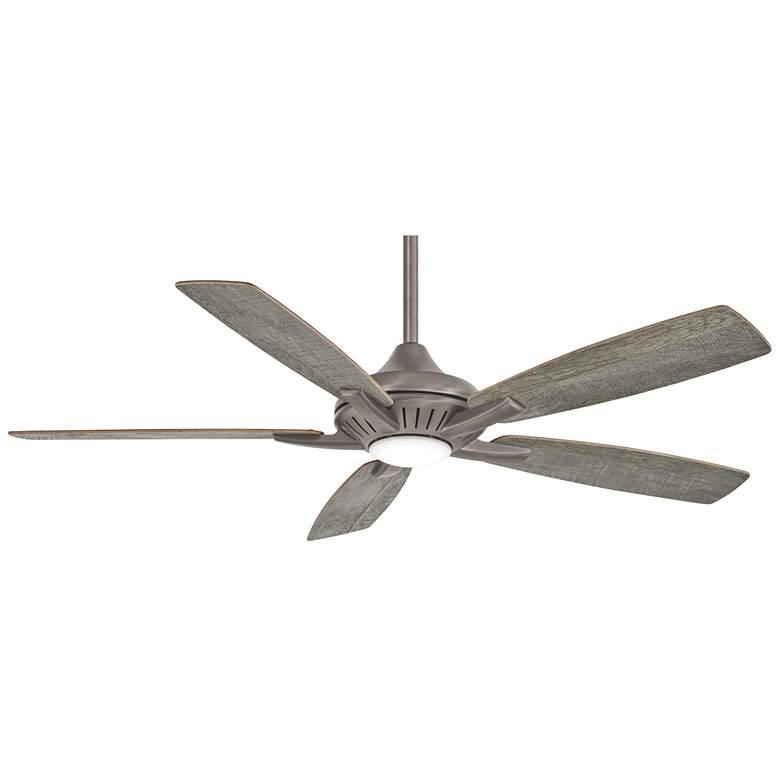 "52"" Minka Aire Dyno Burnished Nickel LED Ceiling Fan"