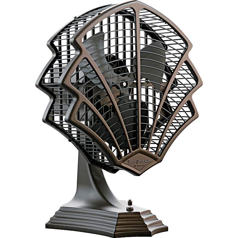 Fanimation Fitzgerald Oil Rubbed Bronze Desk Fan or Wall Fan