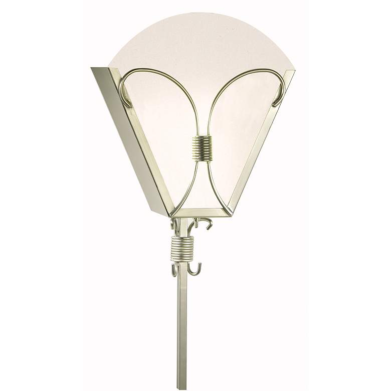 68143 - Brushed Nickel Acrylic Wall Sconce