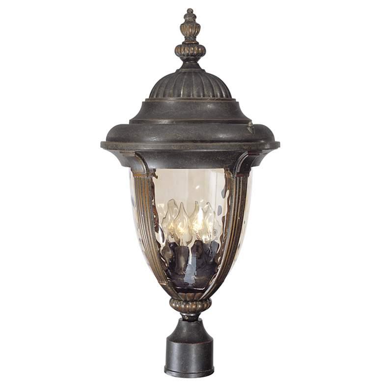 "Bellagio 24 1/2"" High Bronze 4-Light Outdoor Post Light"