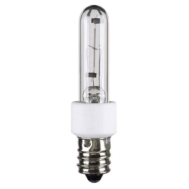 60 Watt Candelabra Light Bulbs: 60 Watt Krypton/Xenon Clear Candelabra Light Bulb