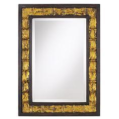"Uttermost Justus 38"" High Wall Mirror"