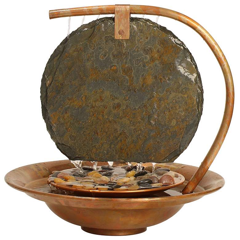 Large Moonshadow Tabletop Fountain
