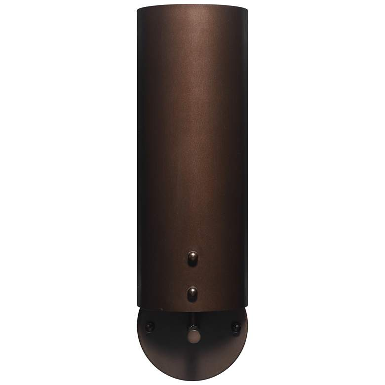 """Jamie Young Olympic 15 1/2""""H Oil-Rubbed Bronze Wall Sconce"""