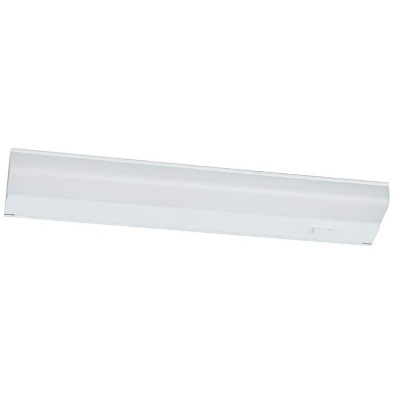 "Led T5L 18"" Wide White LED Under Cabinet Light"