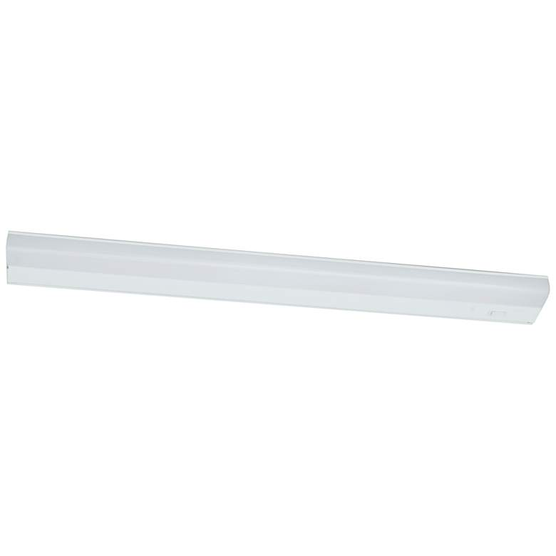 "Led T5L 33"" Wide White LED Under Cabinet Light"