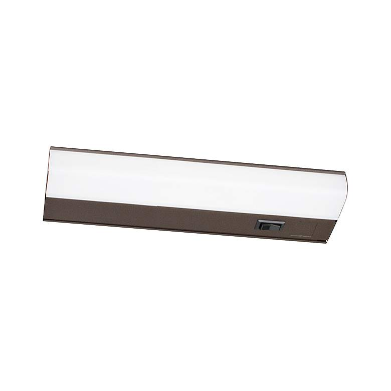 "Led T5L 12"" Wide Oil-Rubbed Bronze LED Under"