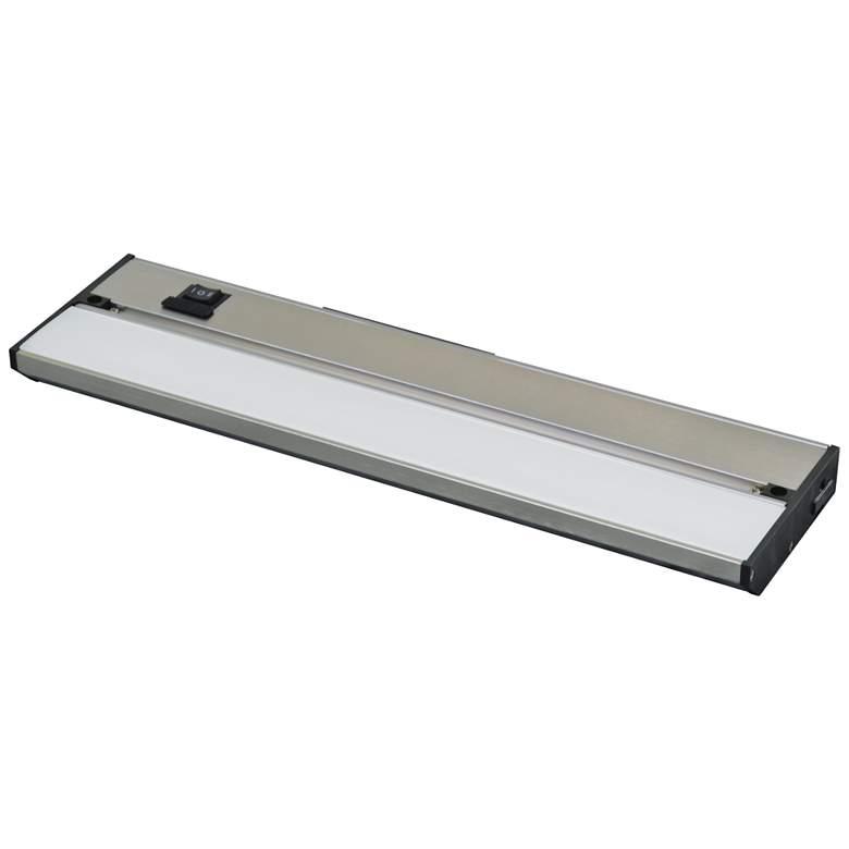 """Noble Pro 32"""" Wide Brushed Aluminum LED Under Cabinet Light"""