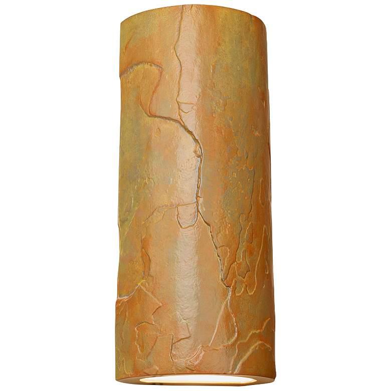 "Masons Select 17"" High Jade Ceramic Outdoor Wall Light"