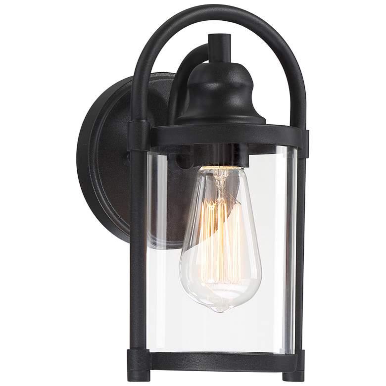 "Avani 10 1/4"" High Black Outdoor Wall Light"