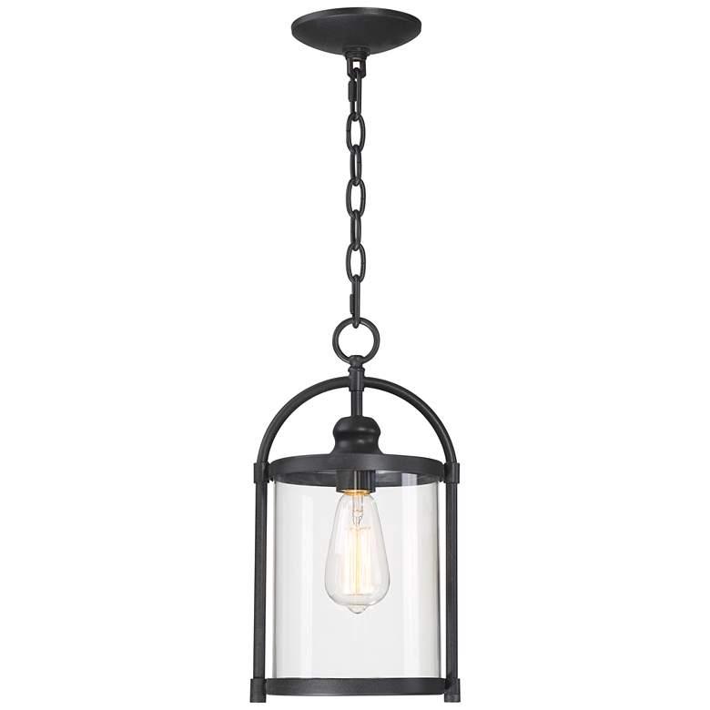 "Avani 15"" High Black Outdoor Hanging Light"