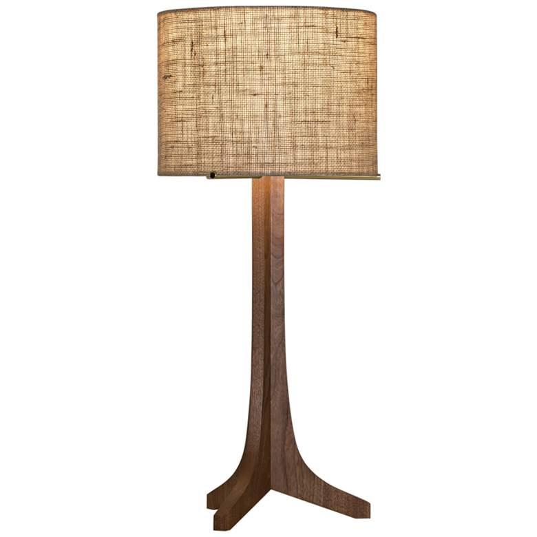 Cerno Nauta Walnut Wood LED Table Lamp with
