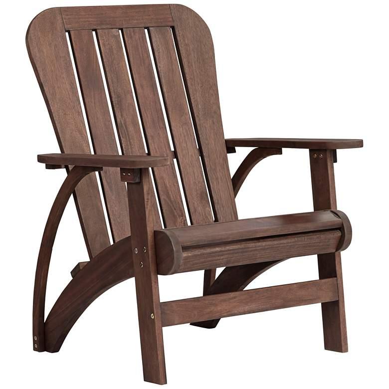 Dylan Dark Wood Outdoor Adirondack Chair