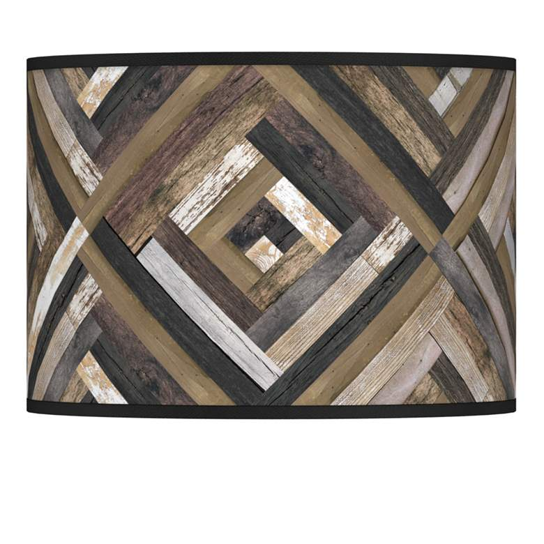 Woodwork Diamonds Giclee Lamp Shade 13.5x13.5x10 (Spider)