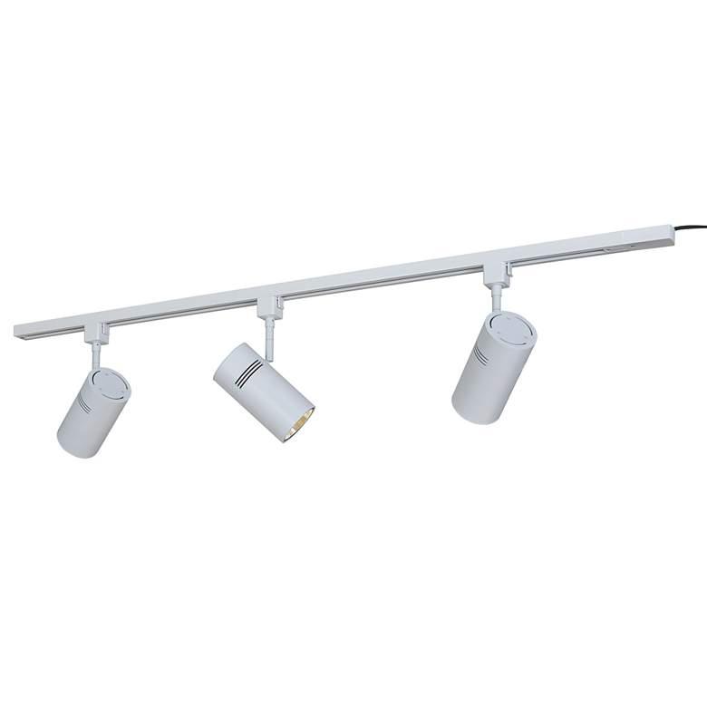 Bruck Eco System 3-Light White LED Track Light