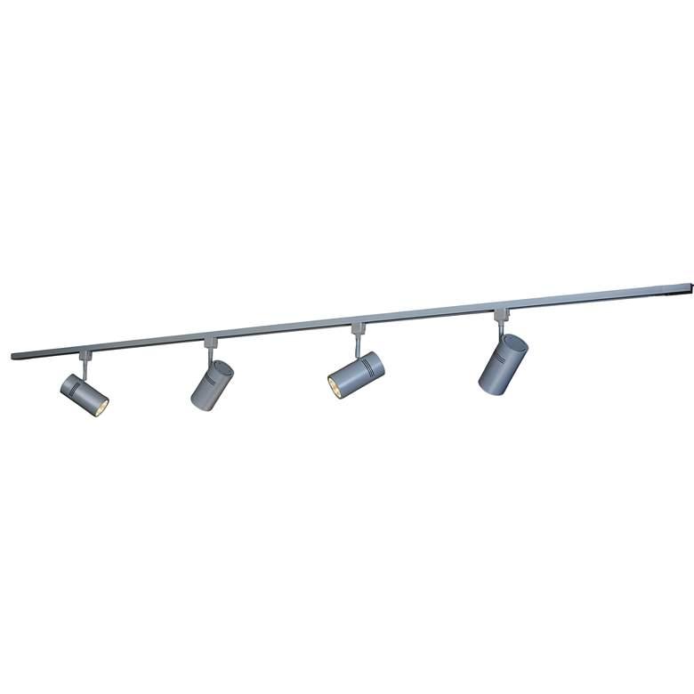 Bruck Eco System 4-Light Matte Silver LED Track