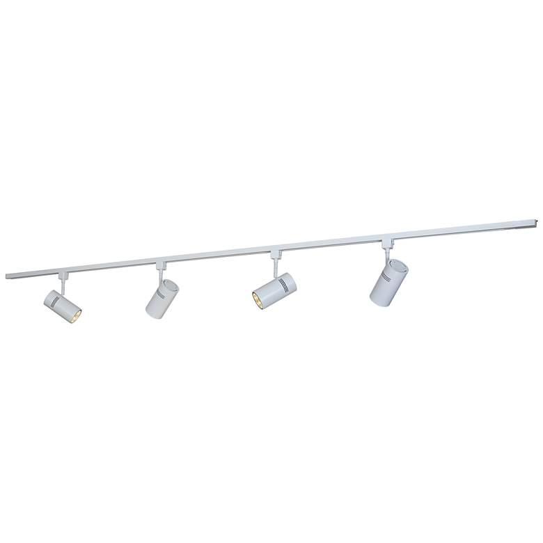 Bruck Eco System 4-Light White LED Track Light Kit