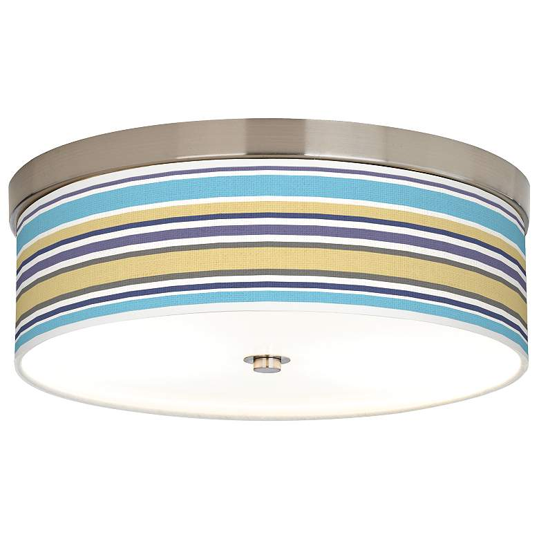 Laguna Stripes Giclee Energy Efficient Ceiling Light