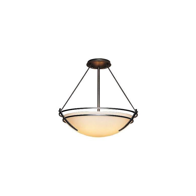 "Hubbardton Forge Presidio 18"" Wide Ceiling Light Fixture"