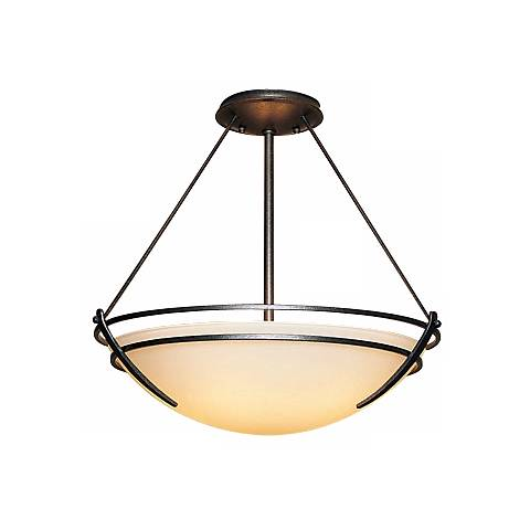"Hubbardton Forge Presidio Tryne 27"" Wide Ceiling Fixture"