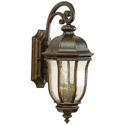 "Harper 20 3/4"" High Bronze Outdoor Wall Light"