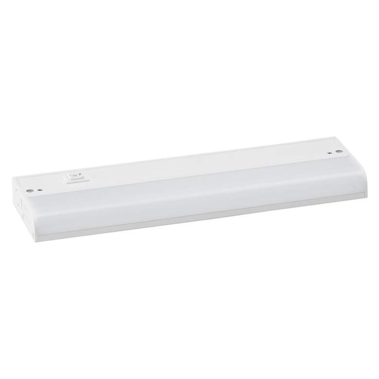 "CounterMax MX-L120-1K 12"" Wide White LED Under Cabinet Light"