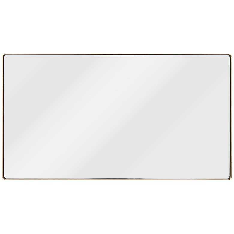 "Varaluz Casa Kye Gold 22"" x 40"" Rectangular Wall Mirror"