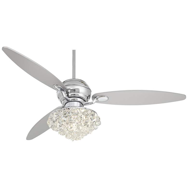 "60"" Casa Spyder LED Ceiling Fan with Hand-Held Remote"