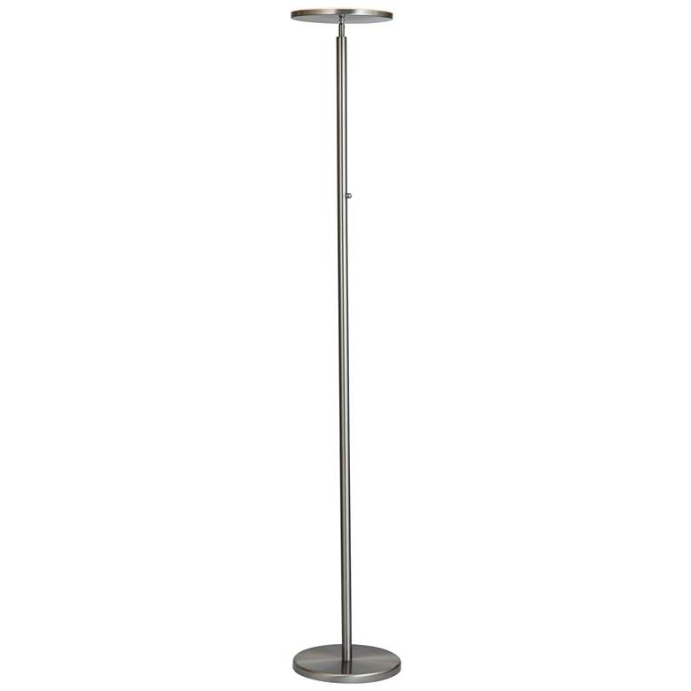 Lite Source Monet Brushed Nickel LED Torchiere Floor Lamp