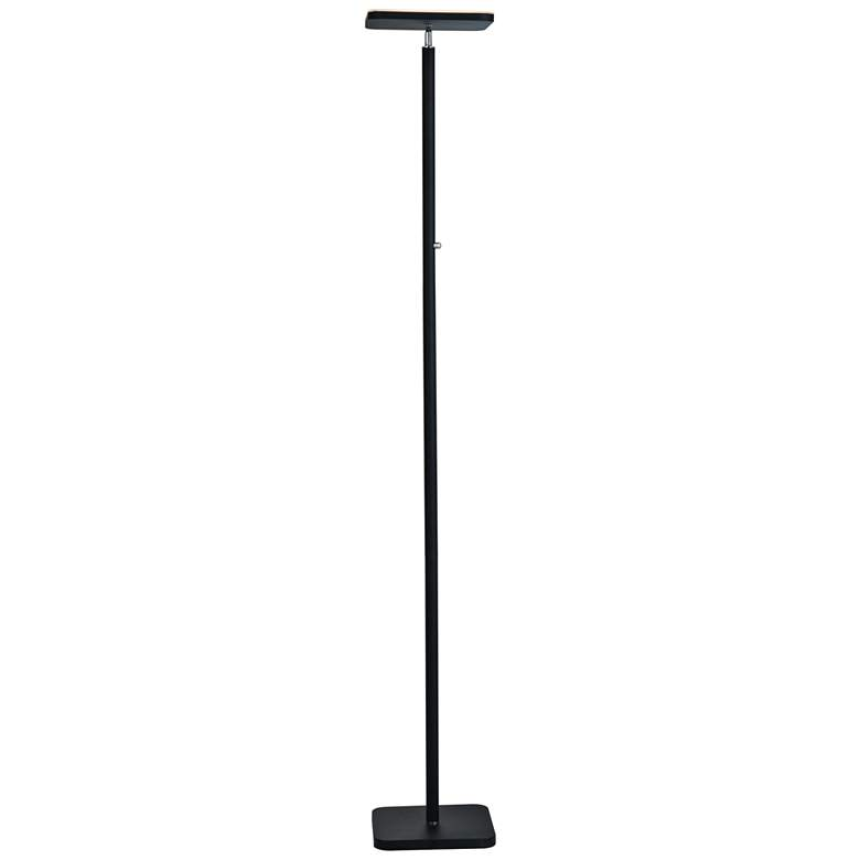 Lite Source Hector Black LED Torchiere Floor Lamp