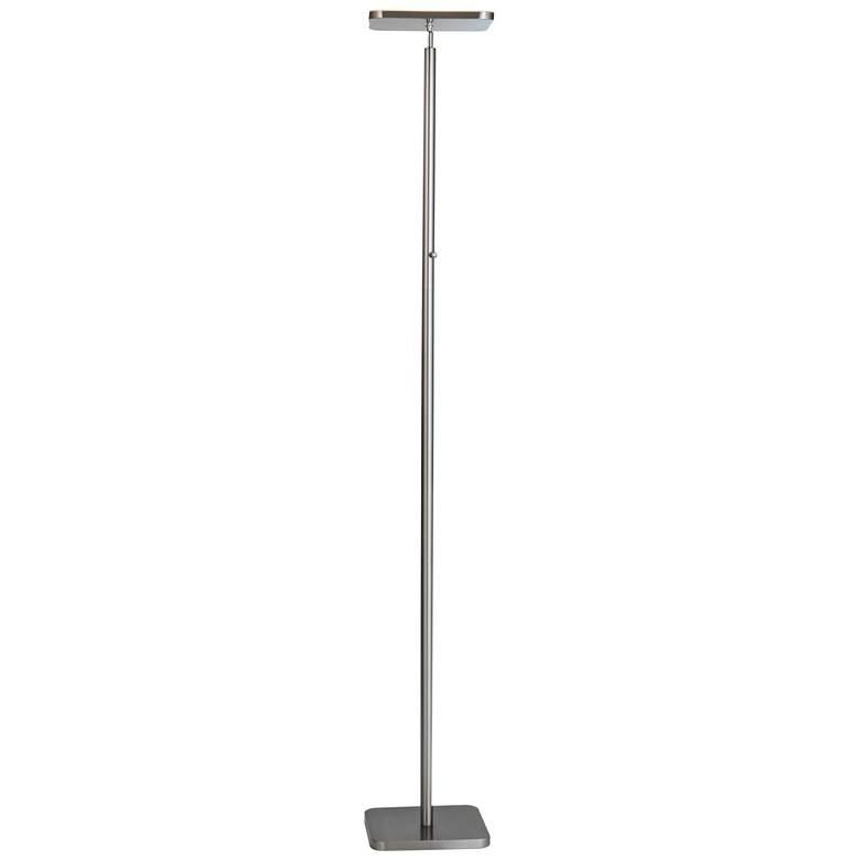 Lite Source Hector Brushed Nickel LED Torchiere Floor Lamp