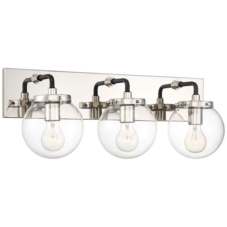 "Possini Euro Fairling 24""W Glass Globe 3-Light Bath Light"