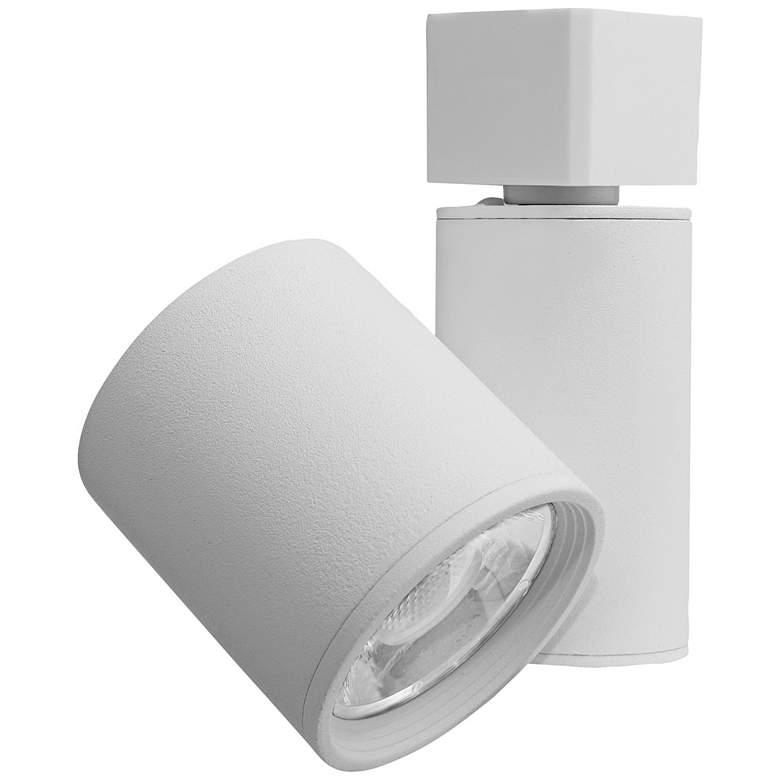 Elco LED Gordian White Cylinder 15 Watt Track