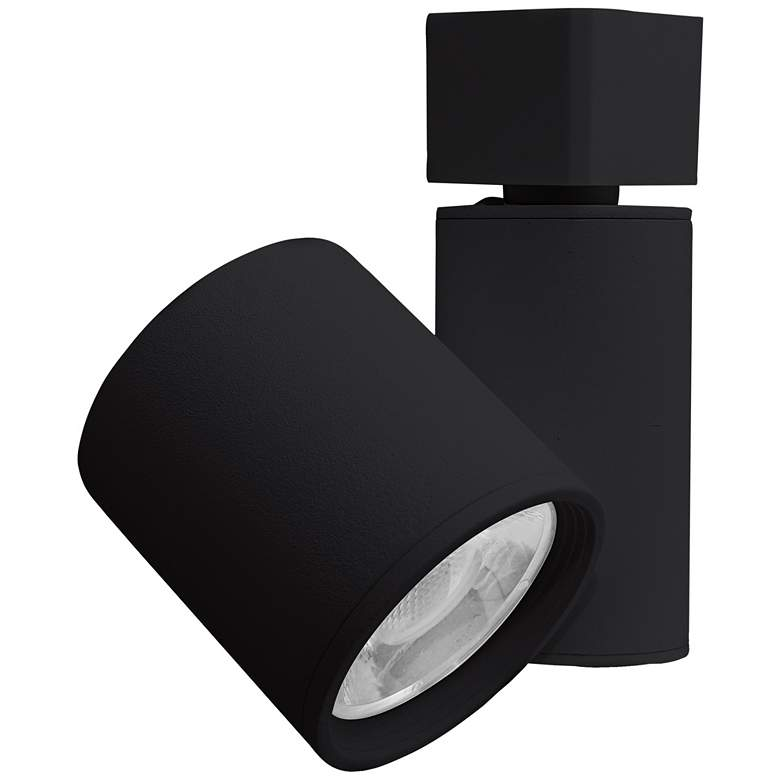 Elco LED Gordian Black Cylinder 15 Watt Track